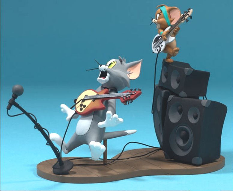 tom and jerry music